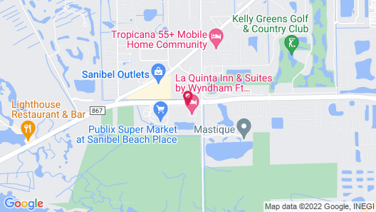 La Quinta Inn & Suites by Wyndham Ft. Myers-Sanibel Gateway Map