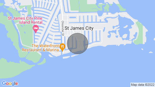 Pine Island Private Getaway With Dock! Map
