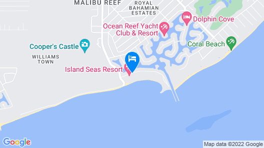 Island Seas Resort Map