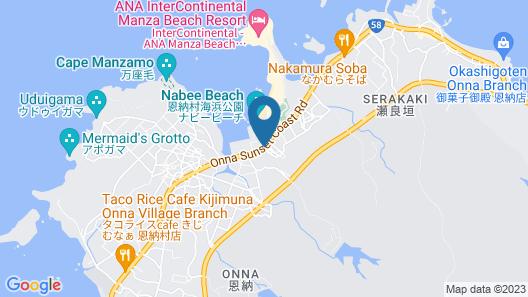 Onna Wafuu Hotel Hokkaisou Map