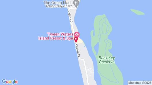 Tween Waters Island Resort & Spa Map