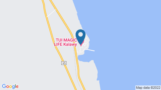 Club Magic Life Kalawy - All Inclusive Map