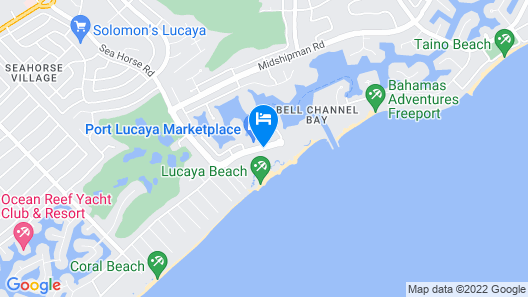 Lighthouse Pointe at Grand Lucayan – All-Inclusive Map