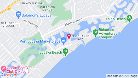 Pelican Bay Resort at Lucaya Map