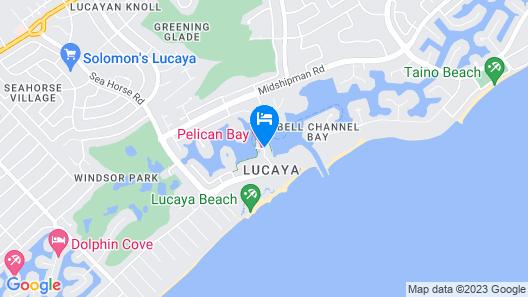 Pelican Bay Resort at Lucaya Map