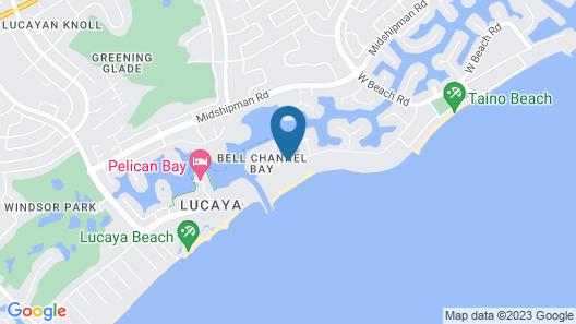 Flamingo Bay Hotel & Marina at Taino Beach Map