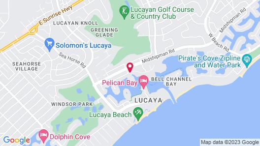 Bell Channel Inn Hotel & Scuba Diving Retreat Map