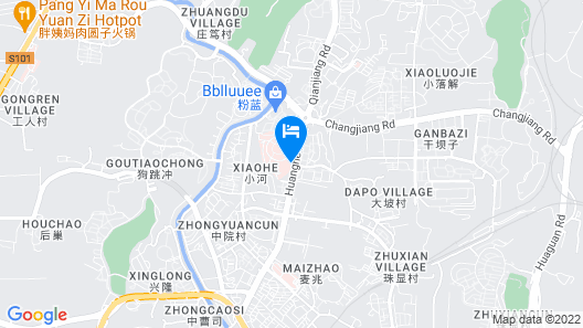 Four Points by Sheraton Guiyang, Huaxi Map