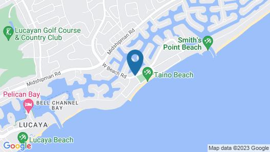 The Marlin at Taino Beach Resort & Clubs Map