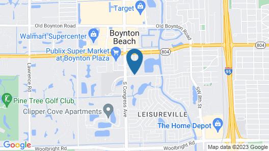 Holiday Inn Express & Suites Boynton Beach West, an IHG Hotel Map