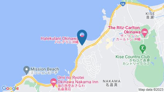 Halekulani Okinawa Map