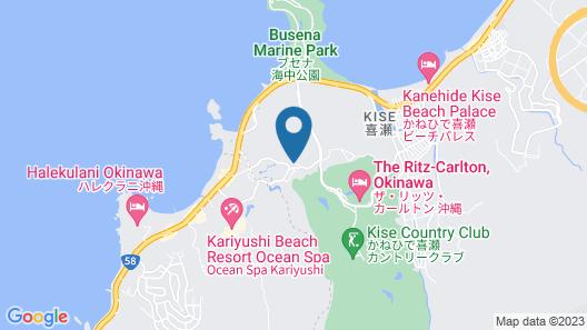 Okinawa Marriott Resort & Spa Map