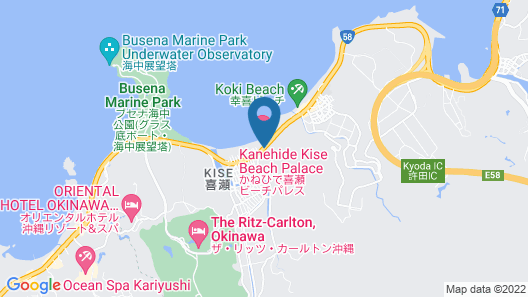 Kanehide Kise Beach Palace Map