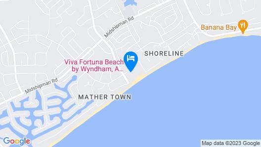 Viva Wyndham Fortuna Beach Resort - All Inclusive Map