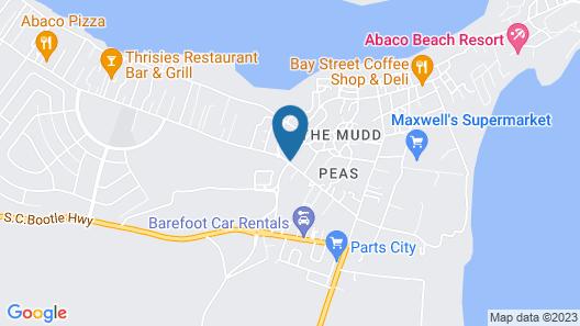 Mermaid Retreat Regattas #15 by Living Easy Abaco Map
