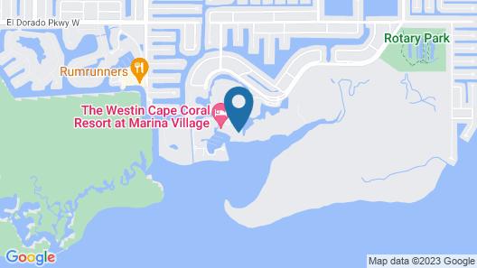 The Westin Cape Coral Resort At Marina Village Map