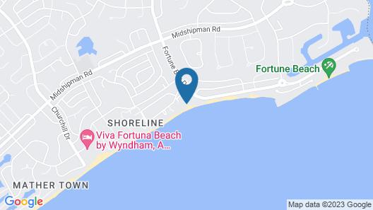 The Blue Inn Villa, 3 Bedroom Vacation Home Map