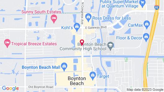 Courtyard by Marriott Boynton Beach Map