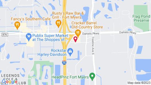 Comfort Inn & Suites Airport Map