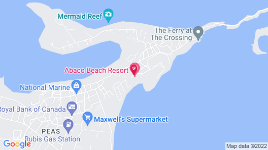 Abaco Beach Resort and Boat Harbour Marina Map