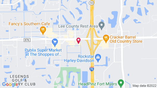 Travelodge by Wyndham Fort Myers Airport Map