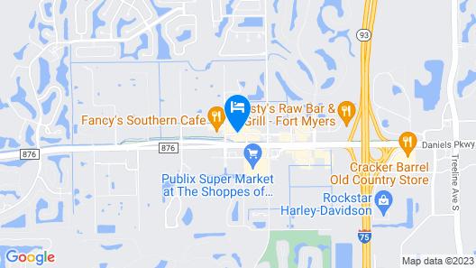 Best Western Airport Inn Map
