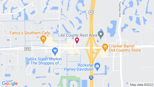 Baymont by Wyndham Fort Myers Airport Map