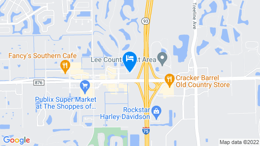 SpringHill Suites by Marriott Fort Myers Airport Map