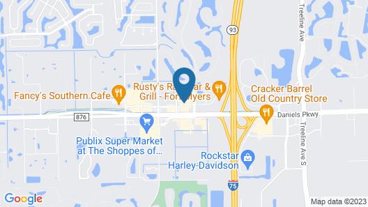 Hampton Inn Fort Myers-Airport & I-75 Map