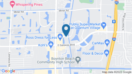 TownePlace Suites By Marriott Boynton Beach Map