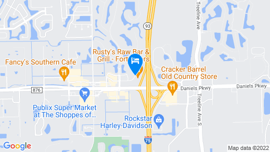 La Quinta Inn & Suites by Wyndham Fort Myers Airport Map