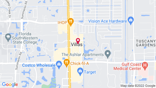 Crowne Plaza Fort Myers, an IHG Hotel Map