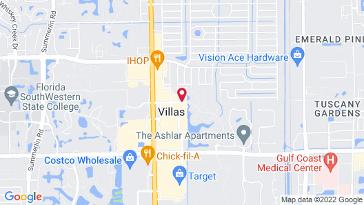 Homewood Suites by Hilton - Fort Myers Map