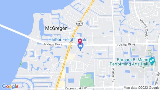 Allure Suites Map