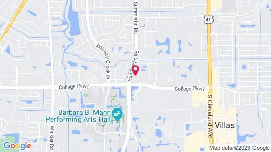 Hilton Garden Inn Ft Myers Map