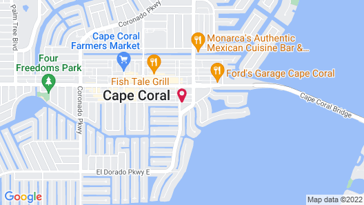 Dolphin Key Resort Map