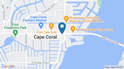 Holiday Inn Express Cape Coral-Fort Myers Area, an IHG Hotel Map