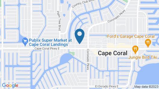 Hampton Inn & Suites – Cape Coral/Fort Myers Area, FL Map