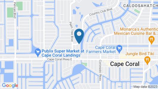 Hideaway Waterfront Resort & Hotel Map