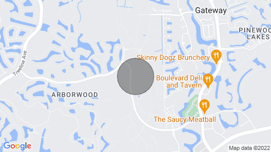 Brand New Fort Myers Gated Community! Map