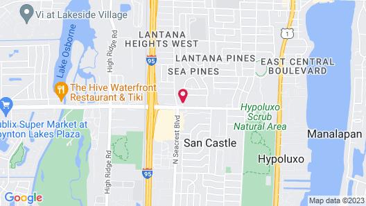 Super 8 by Wyndham Lantana West Palm Beach Map