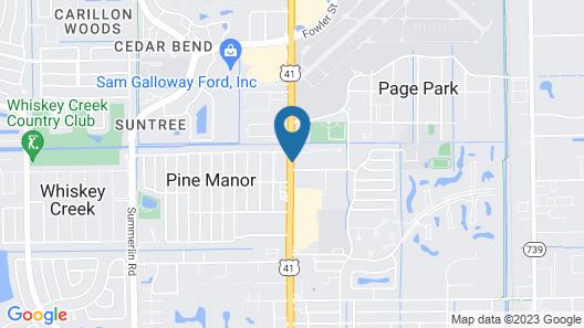 Days Inn by Wyndham Fort Myers Map