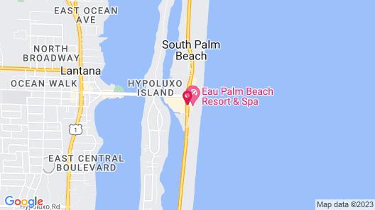 Eau Palm Beach Resort & Spa Map