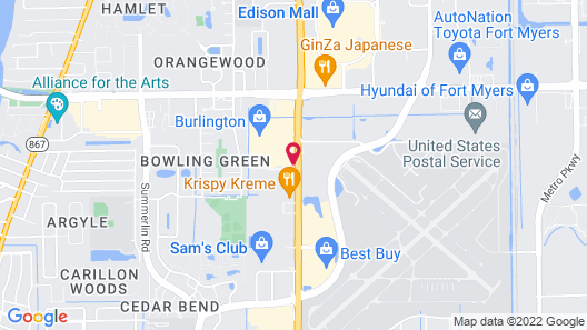 Travelodge by Wyndham Fort Myers Map