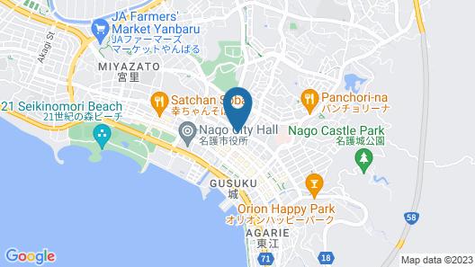 Guest House Pono-Pono Map