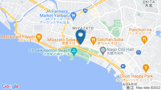 Shirahama Hotel Map