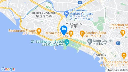 Centurion Hotel Resort Okinawa Nago City Map