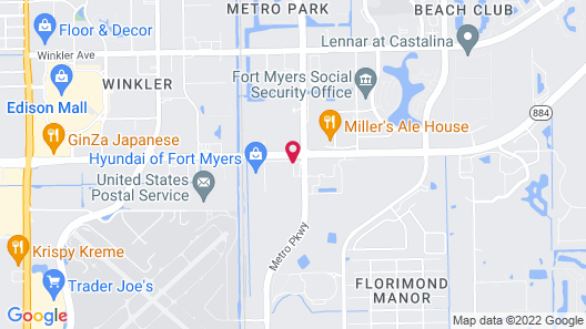 Residence Inn by Marriott Fort Myers Map