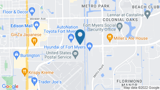 Super 8 by Wyndham Fort Myers Map