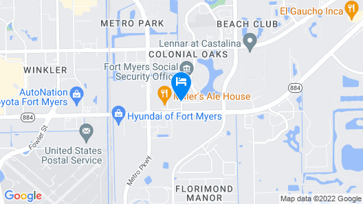 Best Western Fort Myers Inn & Suites Map
